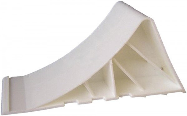 Unterlegkeil Kunststoff weiß