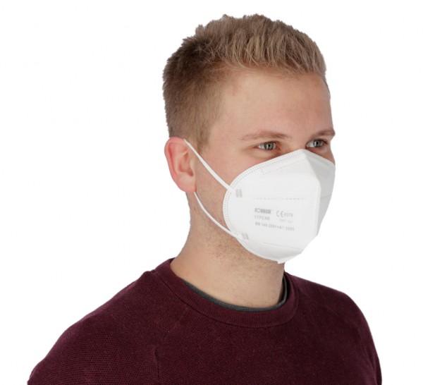 Atemschutzmaske FFP2 NR ohne Ventil