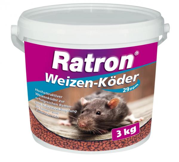Frunol Delicia Ratron Weizenköder 3 kg Eimer
