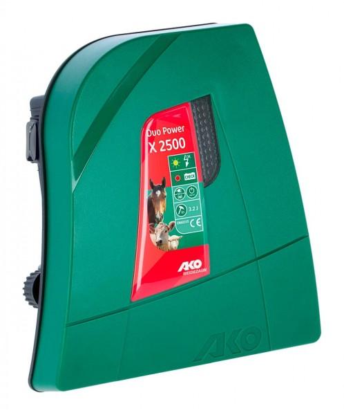 AKO DUO-POWER X2500 12V/230V Weidezaungerät