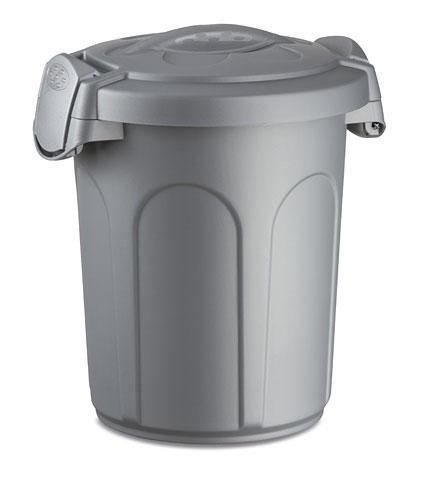 Futtertonne Tom, mit Deckel, 46 Liter