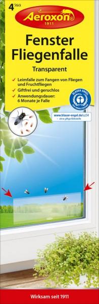 Aeroxon Fenster-Fliegenfalle Transparent