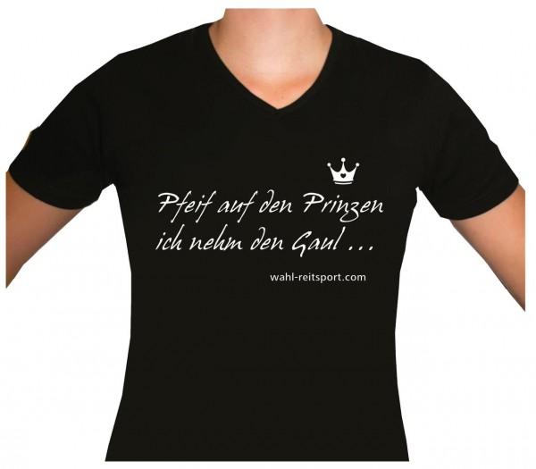 T-Shirt 'Pfeif auf den Prinzen...' V