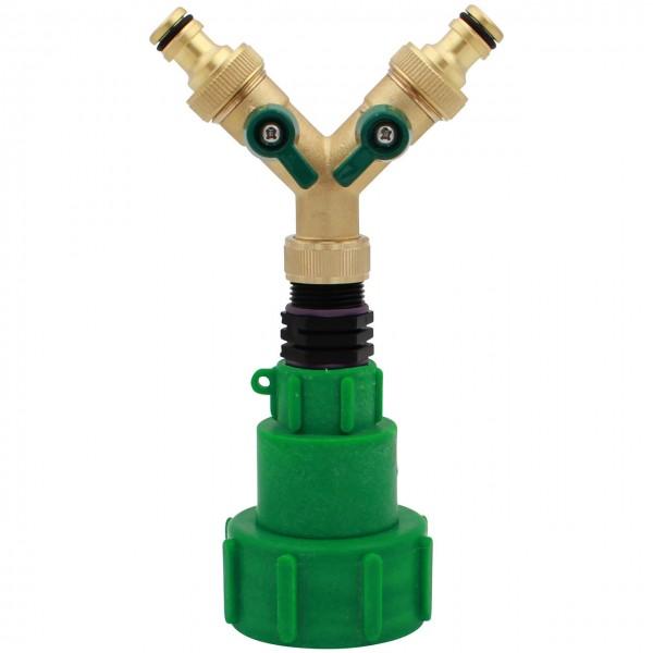 IBC Y-Adapter Metall Klicksystem