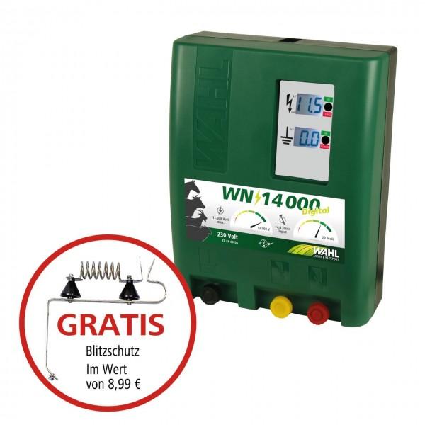 WAHL-Hausmarke WN14000 DIGITAL 230 V Weidezaungerät