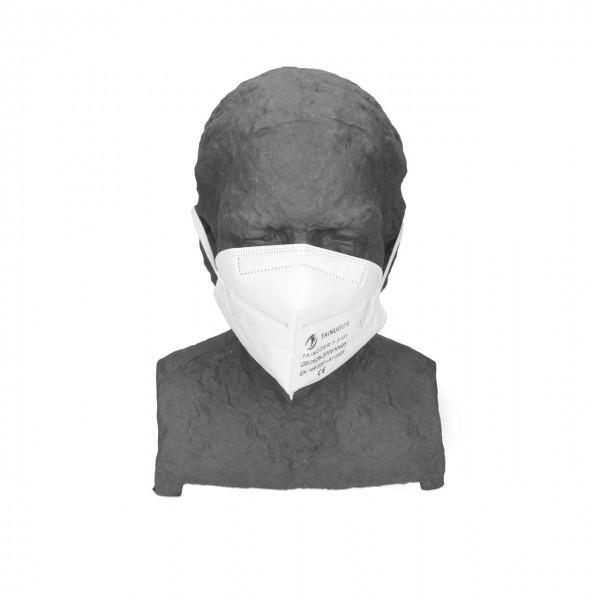 Atemschutzmaske FFP2, faltbar, 2er Pack