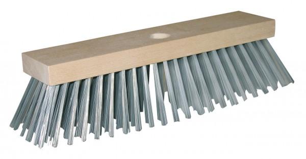 Stahldrahtbesen mit Holzrücken 30 cm