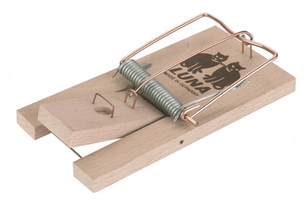Rattenfalle aus Holz, 1 Stück