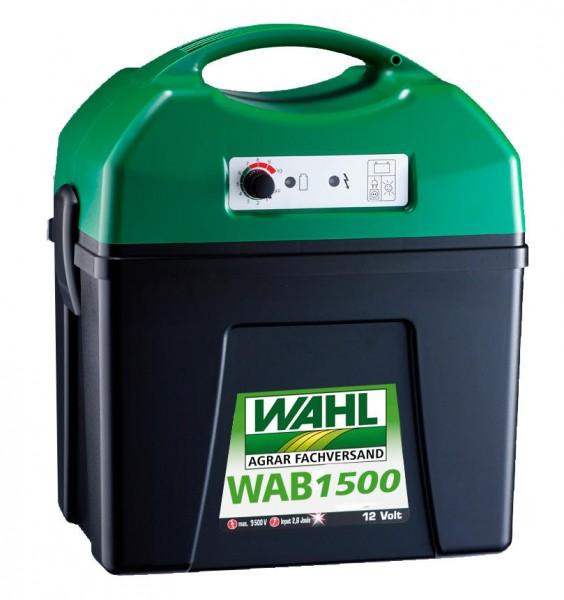 WAHL-Hausmarke WAB1500 - 12V/230V Weidezaungerät