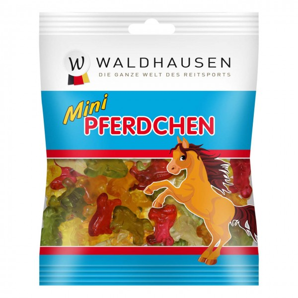Waldhausen HARIBO Fruchtgummis Mini Pferdchen 100 g